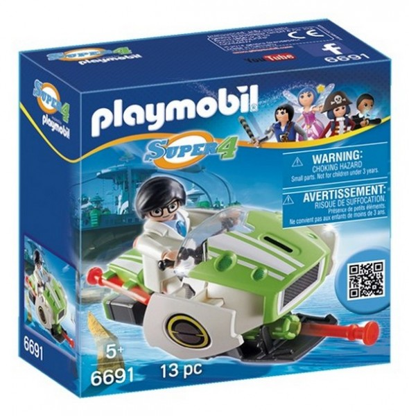 Playmobil Super 4 6691 Конструктор Плеймобил Супер4: Скайджет