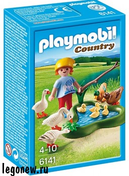 Playmobil Country 6141 Конструктор Плеймобил Ферма Утки и гуси на пруду